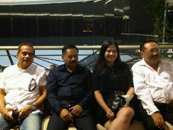 Bersama Tiga Purnawirawan Jenderal yang gagah perkasa